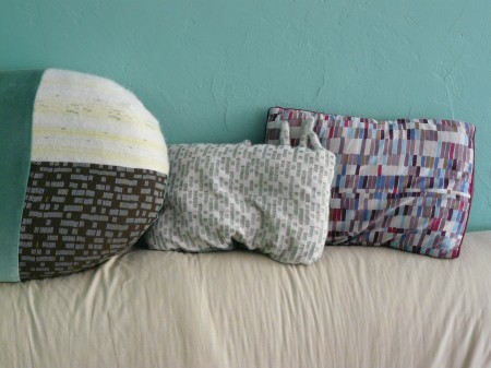 Collection de coussins...