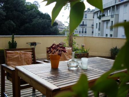 Notre nouvelle terrasse