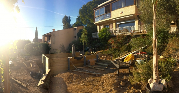 Jardin Slowgarden / Lejardindeclaire / Pool project