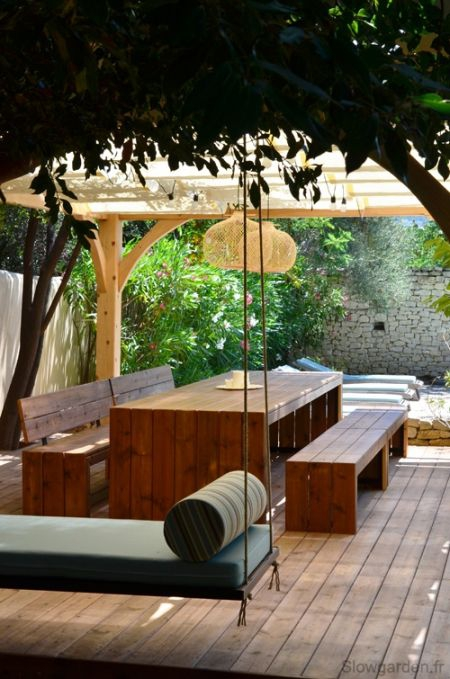 Pergola by Slowgarden / Blog Lejardindeclaire