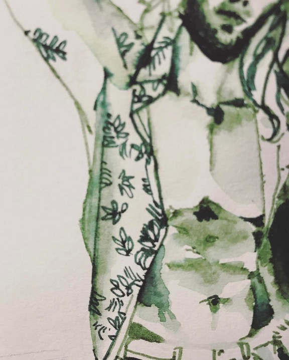 Instagram Myslowgarden / Dessin Jungle Corner