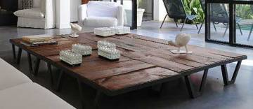 Une table basse en palette lejardindeclaire for Idee table basse recup