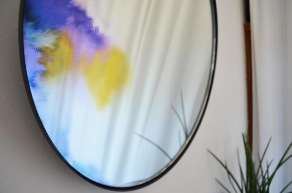 Miroir Francis by Petite Friture design / Photo Lejardindeclaire