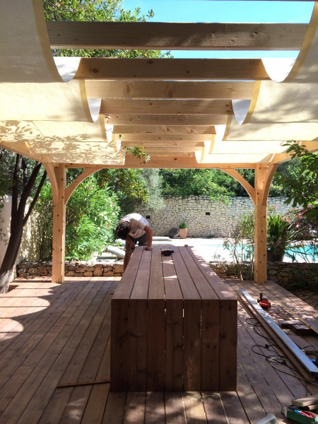 by lejardindeclaire,pergola,slowgarden,terrasse marseille,salle à manger,mobilier outdoor