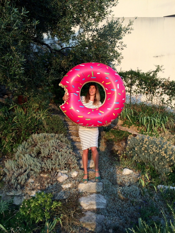 Bouee donut / Photo Lejardindeclaire