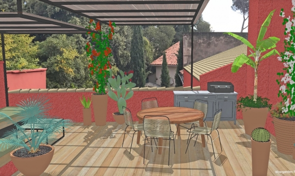 chantier,slowgarden,engelbert strauss,pantalon chantier,work in progress,terrasse bois,marseille,paysagistes