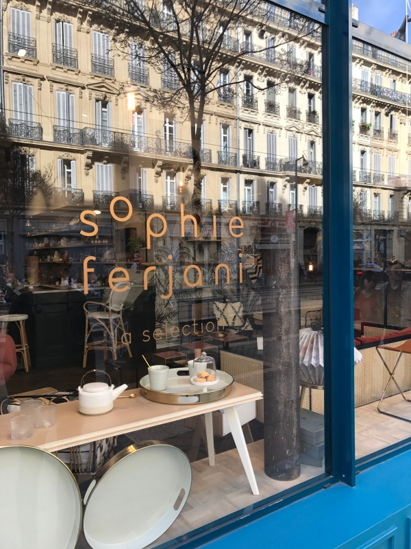 Boutique Sophie Ferjani Marseille / Photo Lejardindeclaire
