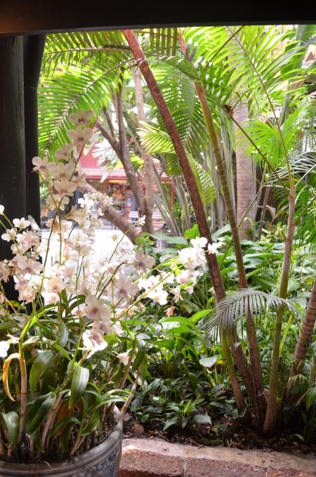 Jim Thompson gardens / Bangkok / Photo Lejardindeclaire