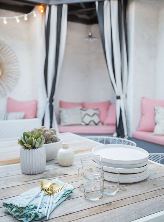 Patio rose, patio, relooking patio, designlovefest, slowgarden, blog lejardindeclaire