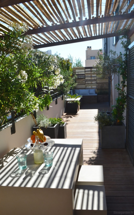 Slowgarden terrace / Via Lejardindeclaire