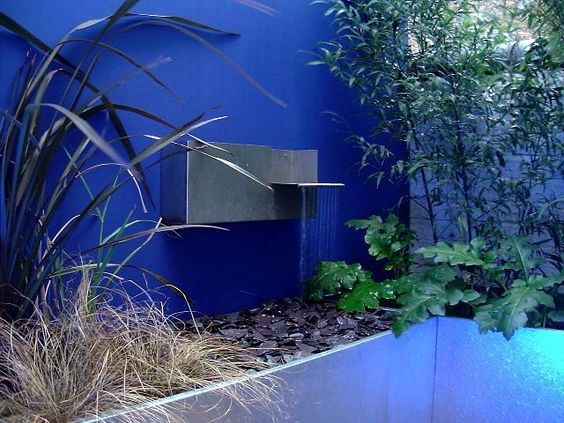 Blue walls Inspiration / Blog Lejardindeclaire