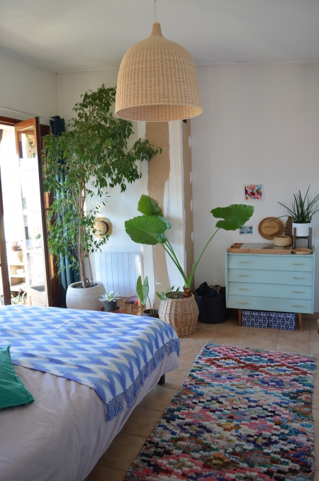 My jungle bedroom / Photo Lejardindeclaire