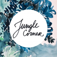 Jungle Corner Shop / LOGO / By Lejardindeclaire