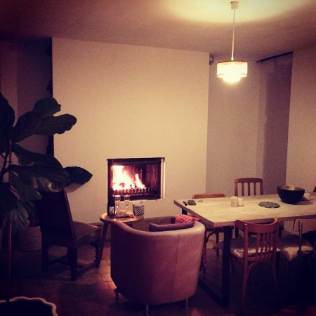 My fireplace / Lejardindeclaire