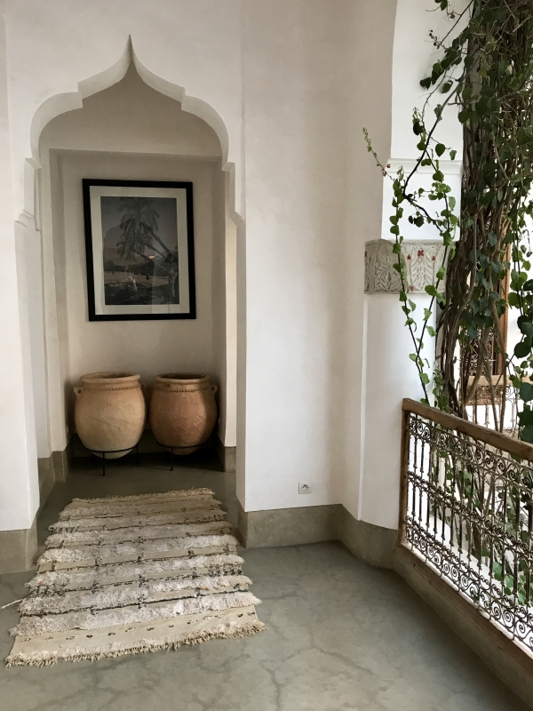 Riad Matham, Marrakech, Photo Lejardindeclaire, Slowgarden