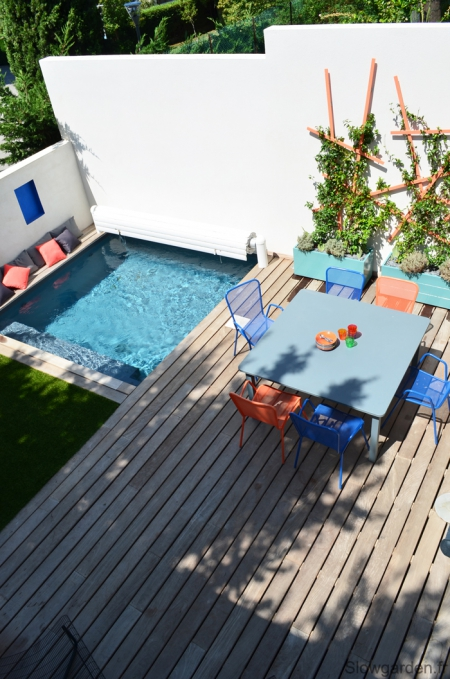 Colorfull terrace by Slowgarden - Provence
