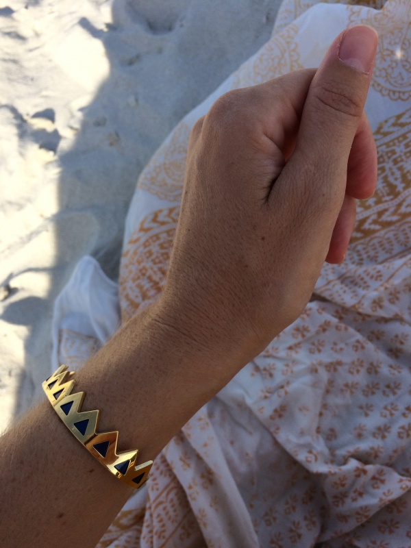Weekend Cap Corse / Bracelet Anne Thomas / Photo Lejardindeclaire